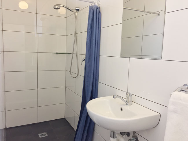 All rooms have new bathroom facilities